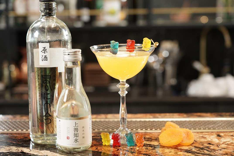 אלכוהול במסעדת מיזו ראשון לציון (צלם: עידן גור)