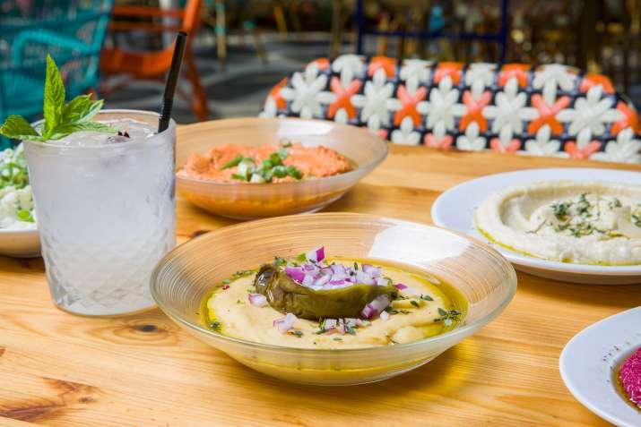 שולחן במסעדת פאראקאלו תל אביב (צילום: באדיבות המקום)
