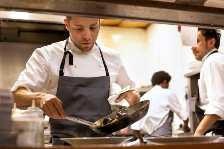 דיוויד פרנקל במסעדת פרונטו (צילום: תמוז רחמן)