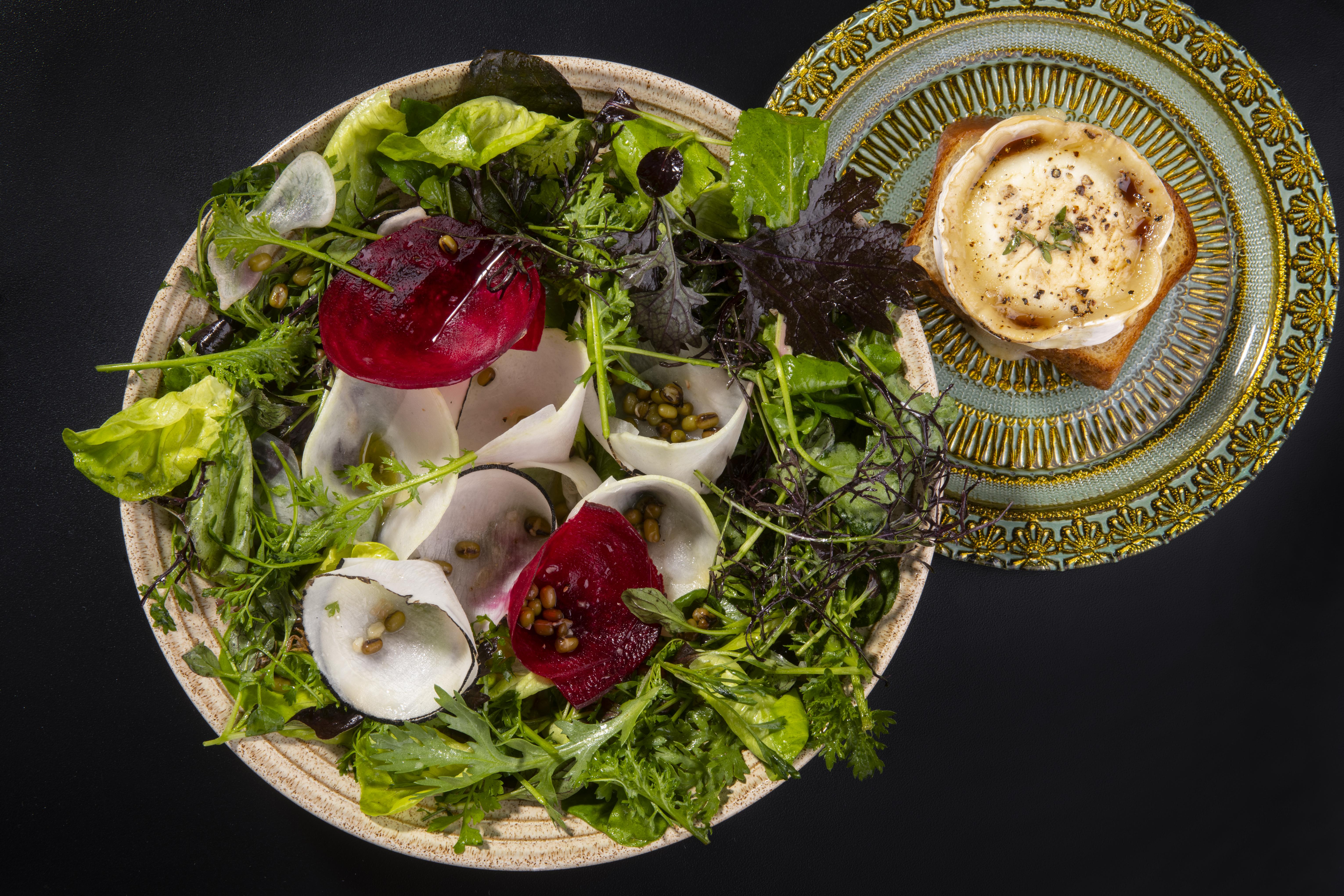 מנה במסעדת ג'ורג' וג'ון תל אביב (צילום: באדיבות המקום)