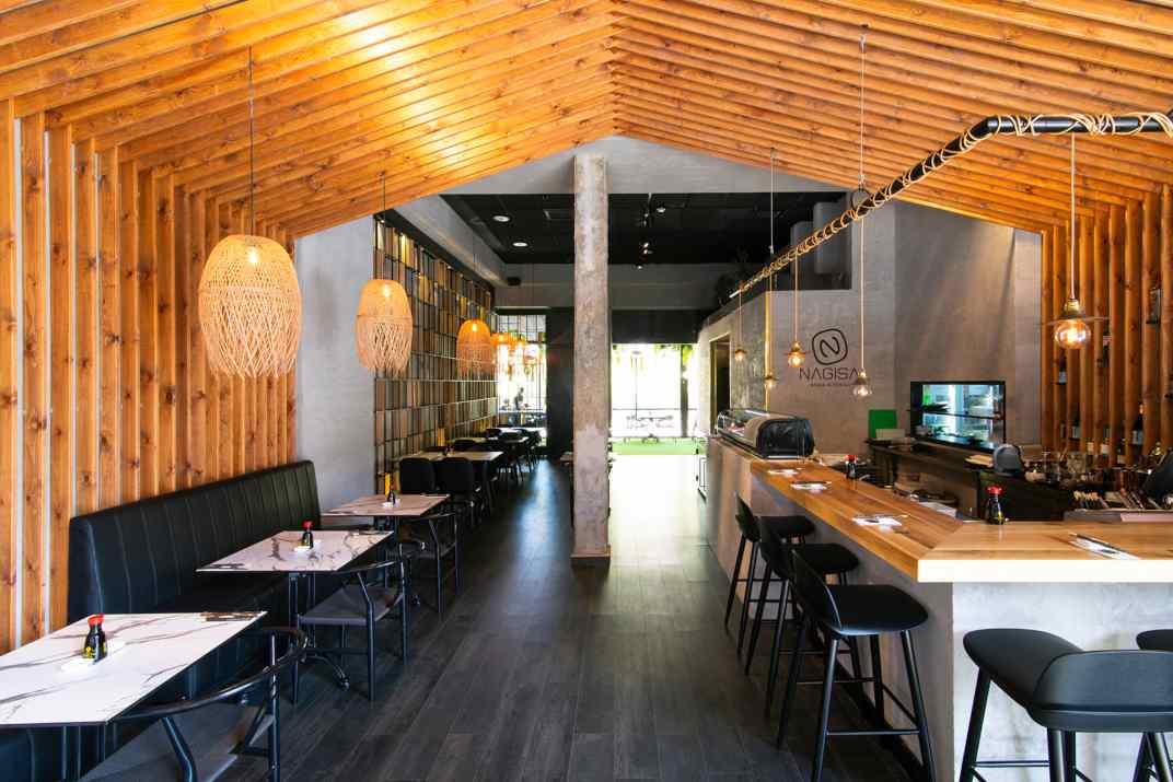 חלל מסעדת נגיסה גבעת שמואל (צלם: דרור ורשבסקי)