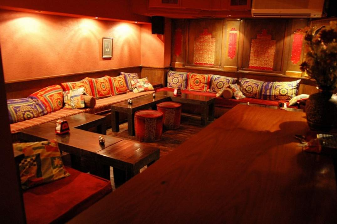 חלל מסעדת אינדירה תל אביב (צילום: באדיבות המקום)