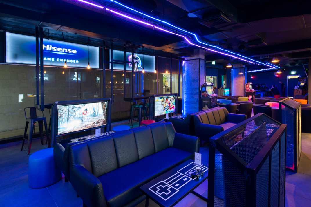 משחקי מחשב בלול אפ גיימינג בר תל אביב (צילום: באדיבות המקום)