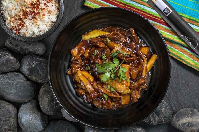 תבשיל ואורז במסעדת פקין תל אביב (צילום: באדיבות המקום)