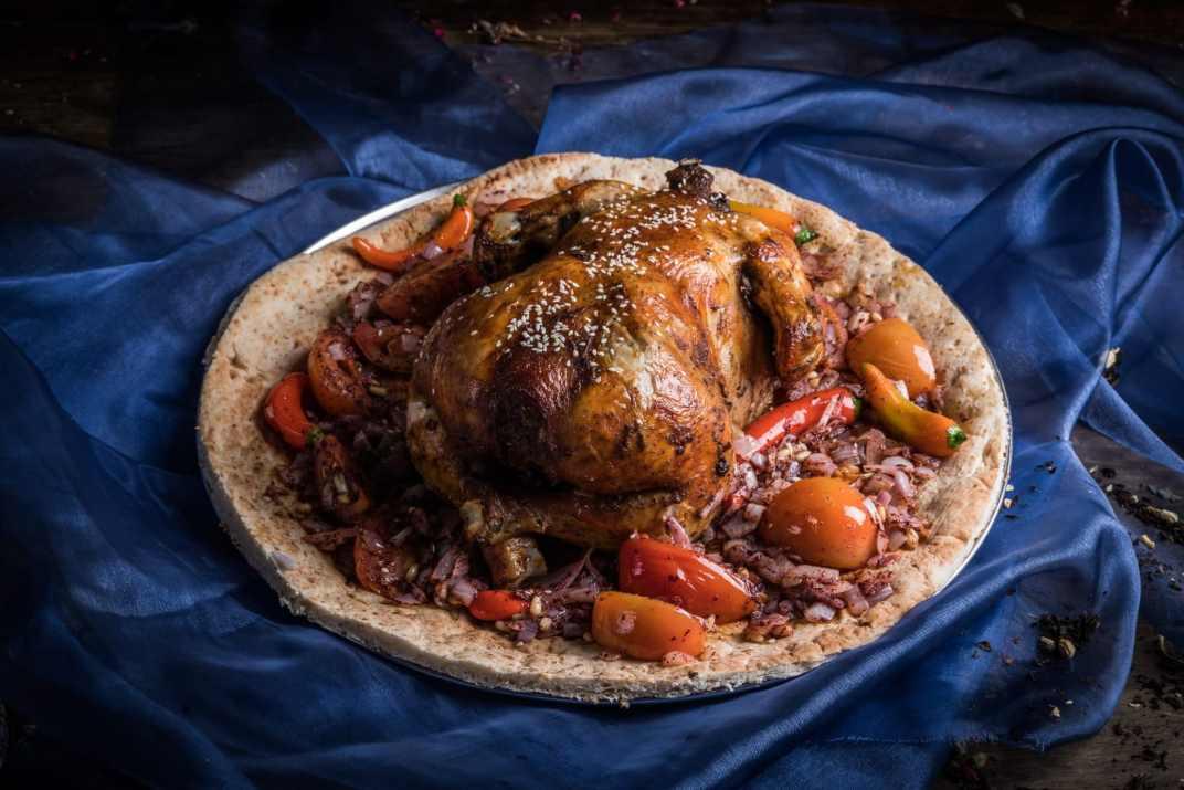 עוף במסעדת אל קוך חיפה (צילום: באדיבות המקום)