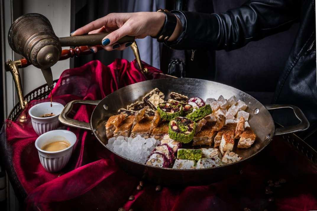 מנה במסעדת אל קוך חיפה (צילום: באדיבות המקום)