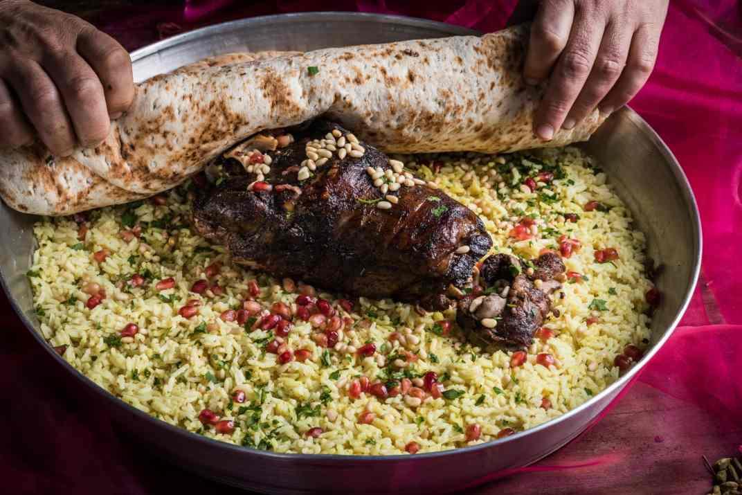 תבשיל עם בשר במסעדת אל קוך חיפה (צילום: באדיבות המקום)