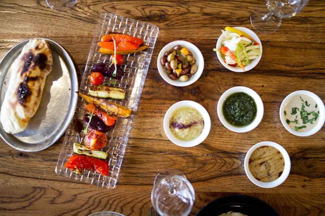 טעימות במסעדת מדיטה ירושלים (צילום: באדיבות המקום)