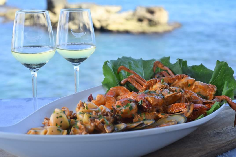 פלטת פירות ים במסעדת אבו כריסטו עכו (צילום: באדיבות המקום)