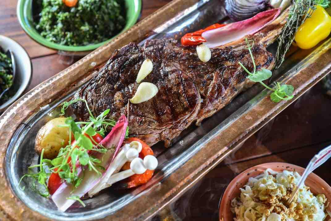 בשר במסעדת דובאי סח'נין (צלם: גלעד הר שלג)