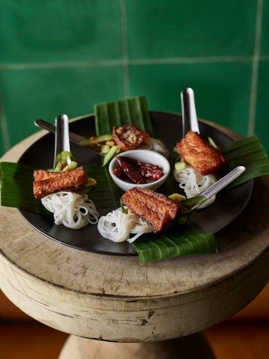 טאם טנג במסעדת קאב קם (צילום: דן פרץ)