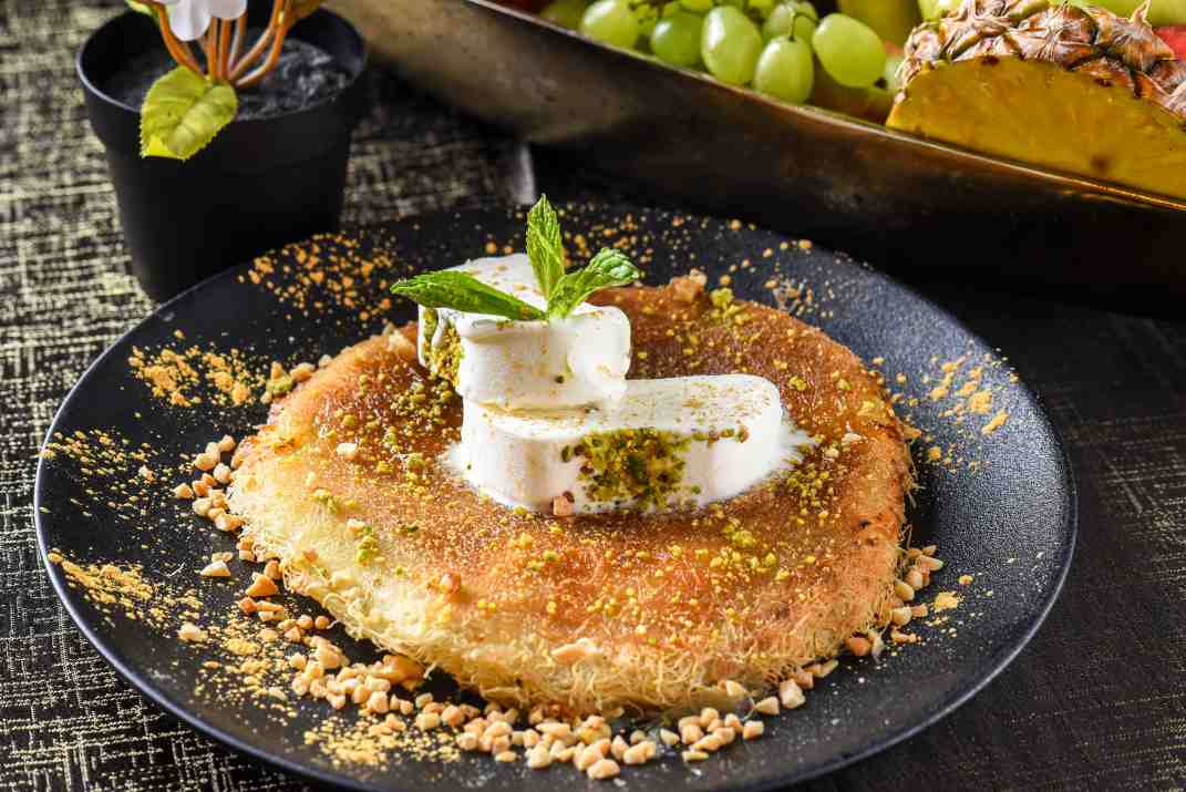 כנאפה במסעדת דהב עראבה (צילום: באדיבות המקום)