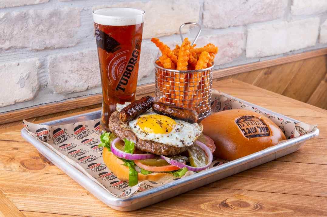 ההמבורגר של שגב ירושלים (צילום: עידן גור)