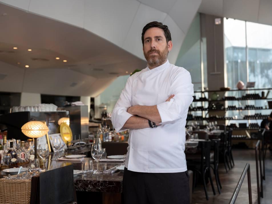 קובי בכר השף החדש של מסעדת פאסטל (צילום: אנטולי מיכאלו)