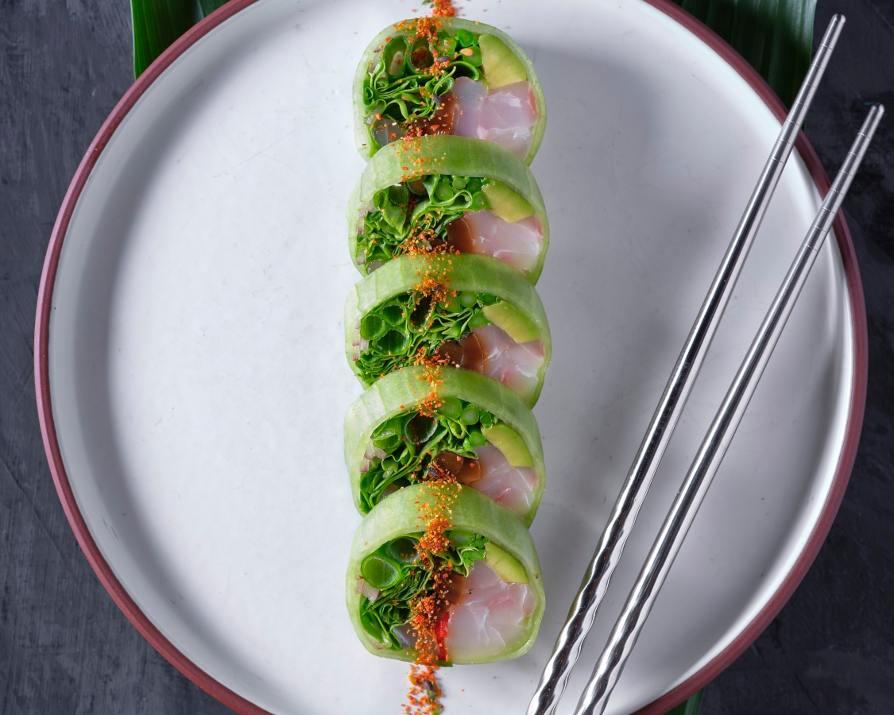 גרין רול בפריים שף סושי בר (צילום: אנטולי מיכאלו)