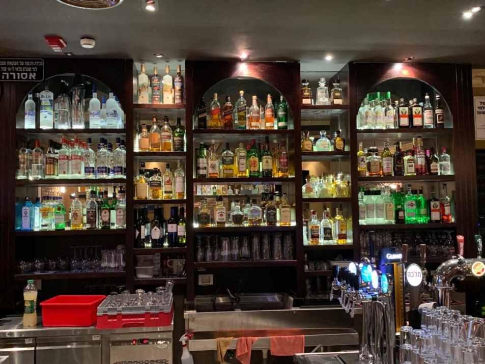 בר אלכוהול בפטריק'ס ירושלים (צילום: באדיבות המקום)