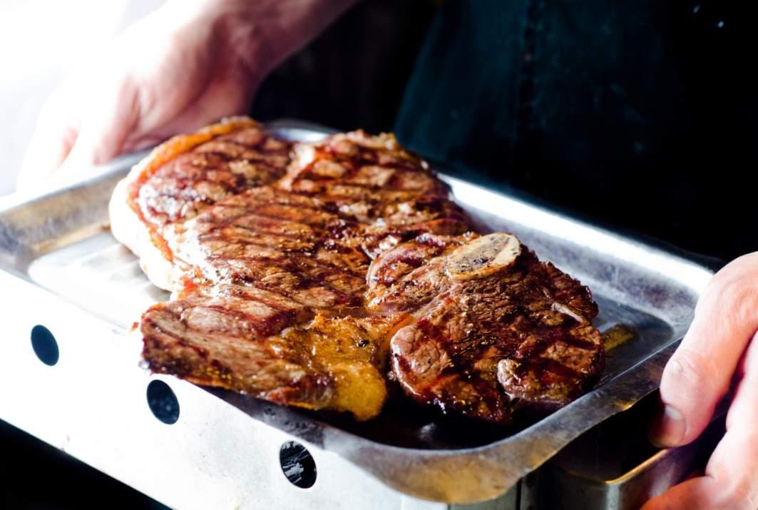 סטייק בשר בלימוזין, רמת ישי (צילום: באדיבות המקום)
