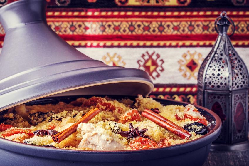"""ארוחה מרוקאית בדל בורגו (צילום: יח""""צ)"""