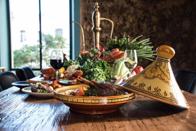 תבשיל בשר במסעדת אווה סאפי (צילום: באדיבות המקום)