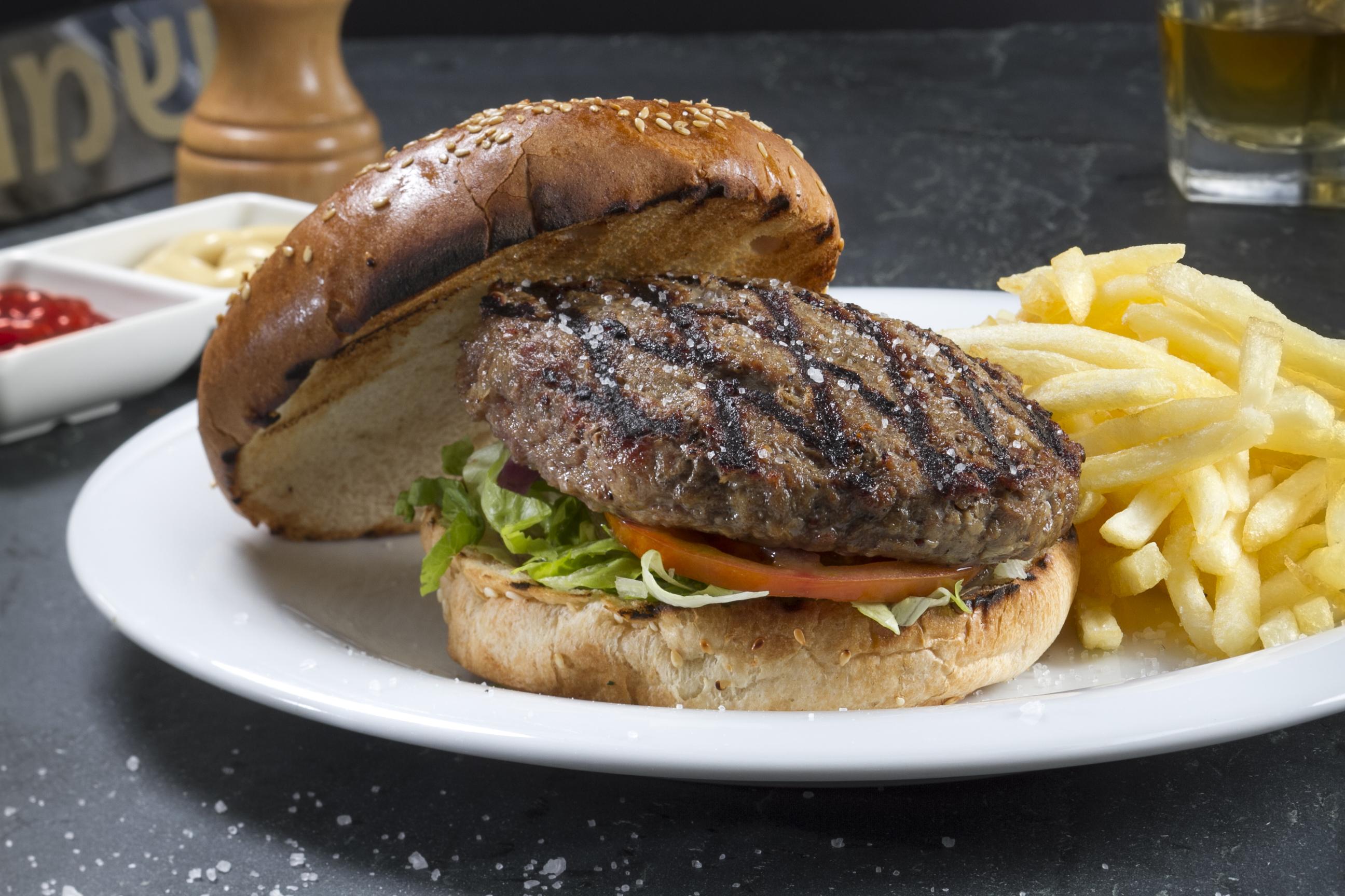 המבורגר של לאנטריקוט (צילום: דן פרץ)