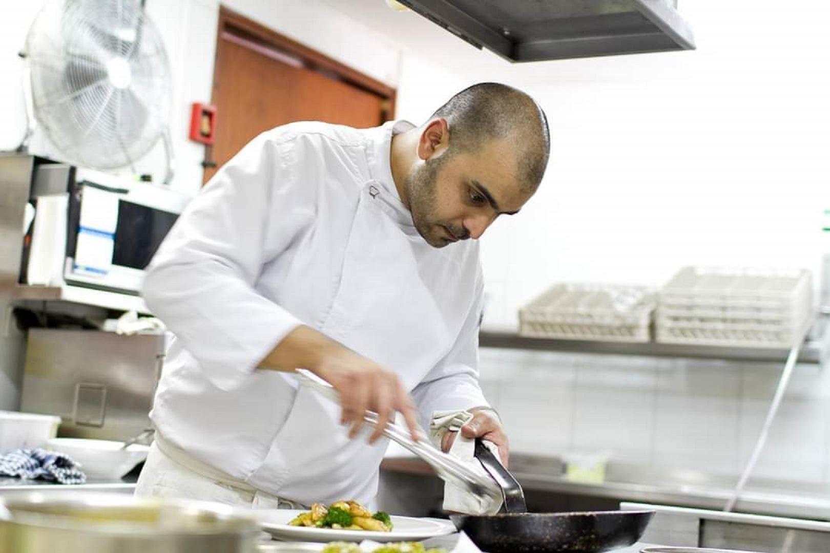 רושדי דקוואר (צילום: באדיבות השף)