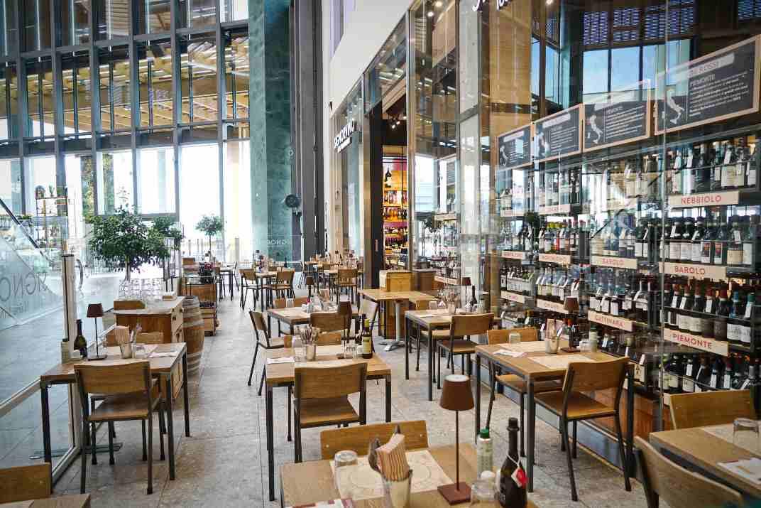 מסעדה ריקה (צילום: Shutterstock)