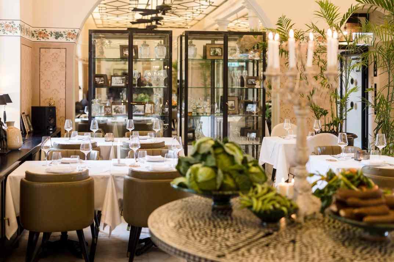 מסעדת ג'ורג וג'ון במלון דריסקו תל אביב (צילום: באדיבות המקום)