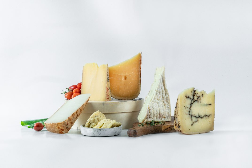 מארז גבינות של באשר פרומז'רי (צילום: אמיר מנחם)