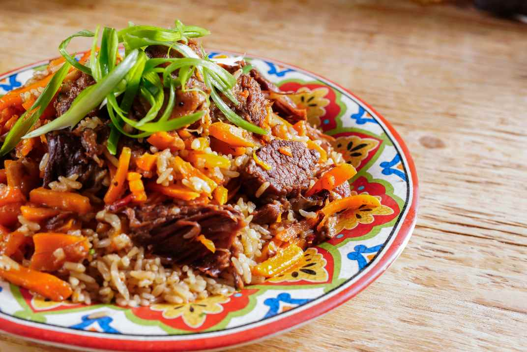 תבשיל בשר במסעדת סמרקנד (צילום: באדיבות המקום)