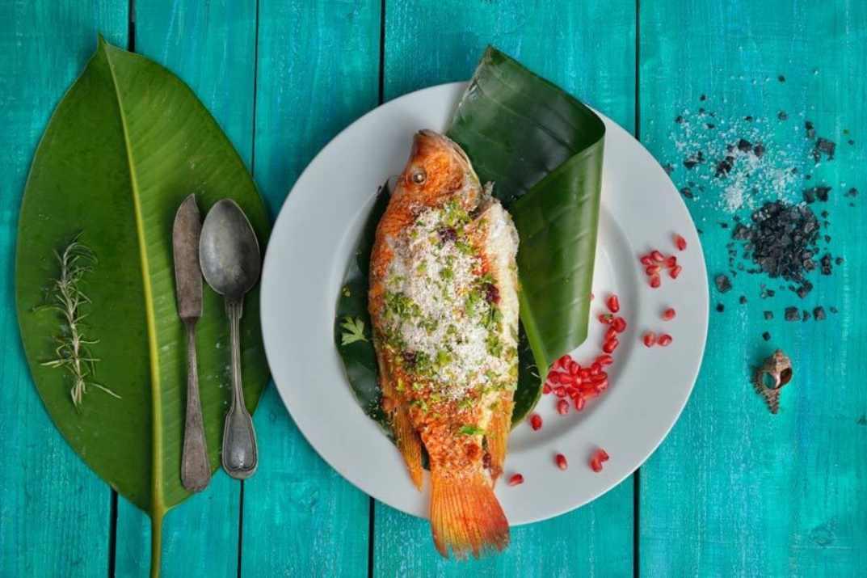 דגים ופירות ים בעסקית שווה. פלמידה, רמת גן (צילום: באדיבות המקום)