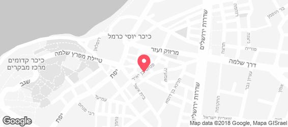 הקייטרינג של ערן זינו - מפה