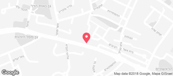 בית מאפה אללוף - מפה