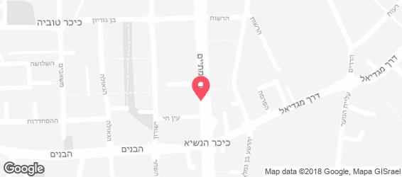 בית מאפה לדוגמא - מפה