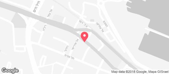 שווארמה במבינו - מפה