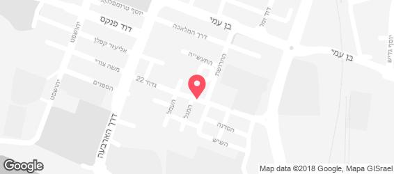 מאפיות אניס פיראן - מפה