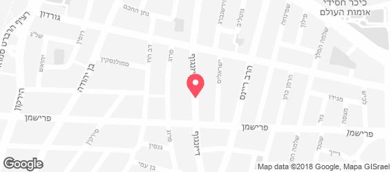 פול ווליום - מפה