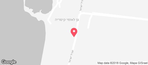 פונדק הצלבנים - מפה