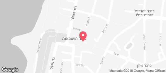 סקוצמן - מפה
