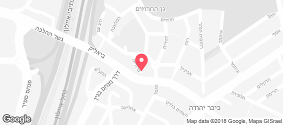 חומוס ופלאפל חתוכה - מפה