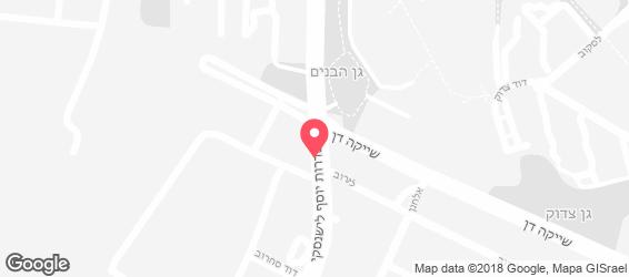 נאפיס חולון - מפה
