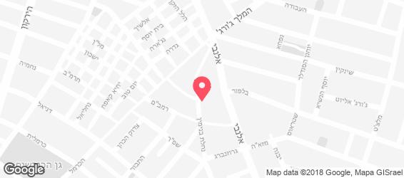 לה-קוקט - מפה