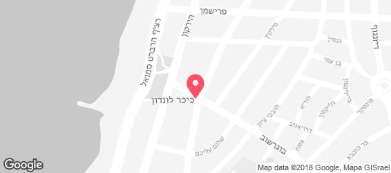 בית תאילנדי תל אביב - מפה