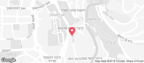 החאן גלריה לאירועים - מפה