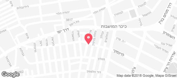 שווארמה פלאפל אלי - מפה
