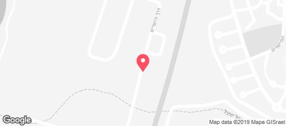 כוסברה - מפה