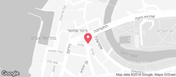 חומוס אסלי - מפה