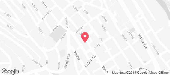 פלאפל ירושלמי - מפה