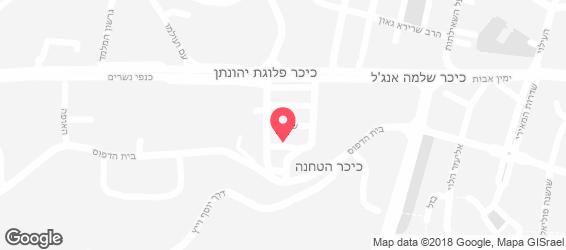 יהודה ושרלי - מפה