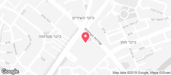השווארמה זוילי - מפה