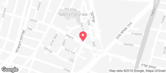 יהודה הלוי - מפה